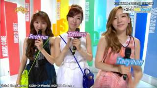 [Live HD] 130202 SNSD TaeTiSeo MC Cut 5 #GoodbyeIGAB