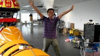 Interactive Robotic Lion-Kung Fu
