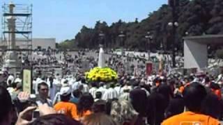 O adeus da  Virgem de Fatima