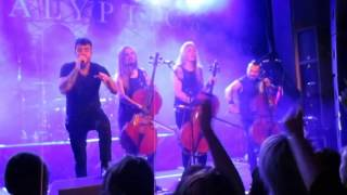 Apocalyptica - Not Strong Enough (live)