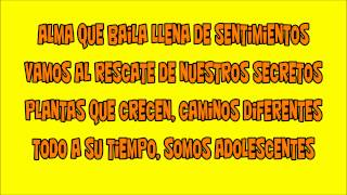 Chiquititas 1999-Adolescentes-Lyrics