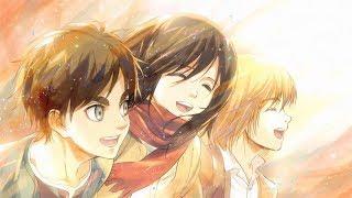 Shingeki no Kyojin Season 3 Opening - Red Swan (Calmo Remix)