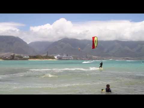 Amazing Jump Kite Beach Maui