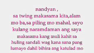 Laging Nandyan ft.Thyro & Yumi - BnK (Lyrics)
