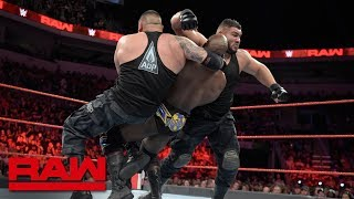 Titus Worldwide vs. The Authors of Pain: Raw, July 2, 2018