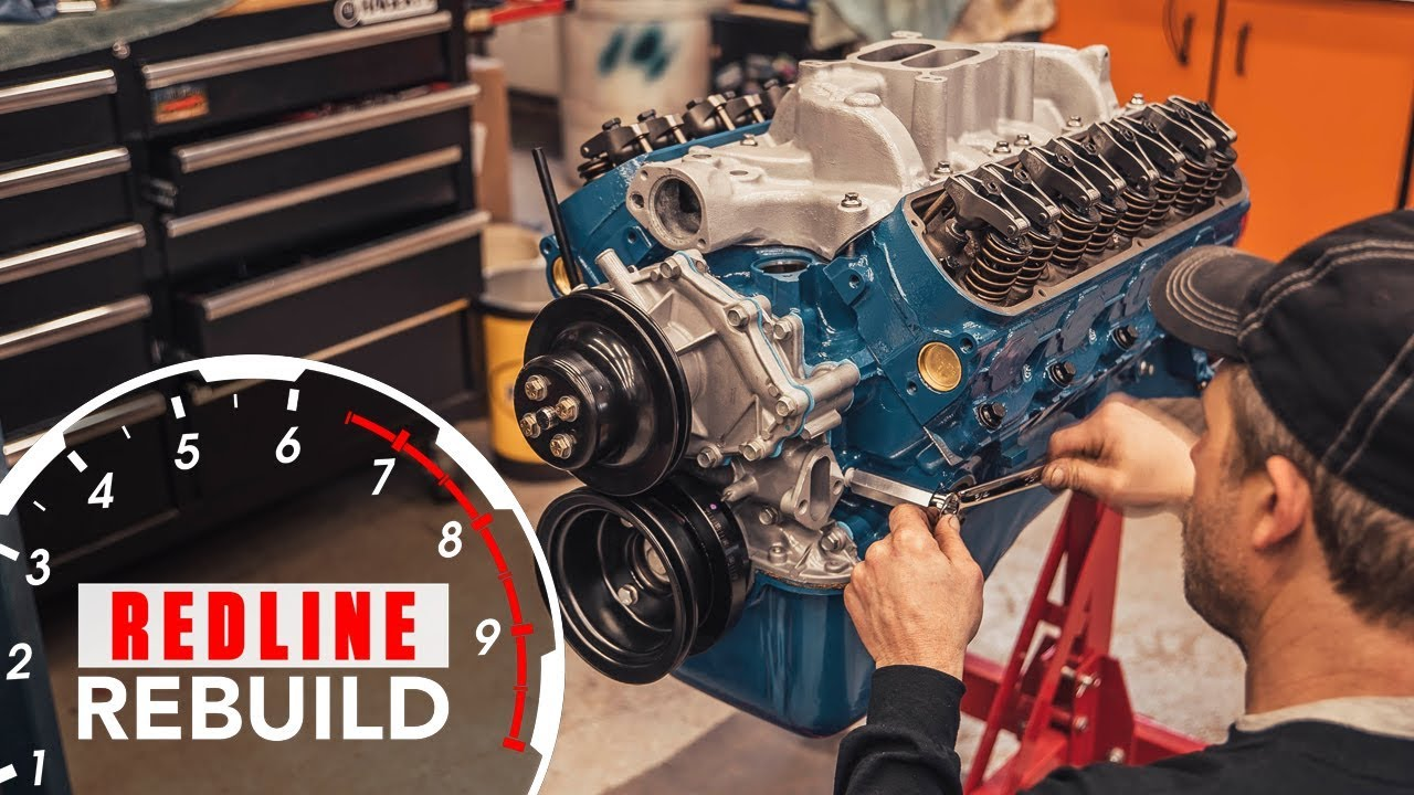 Watch this Ford 289 V-8 engine go from basic to bruiser