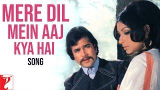 Mere Dil Mein Aaj Kya Hai - Song | Daag | Rajesh Khanna | Sharmila Tagore