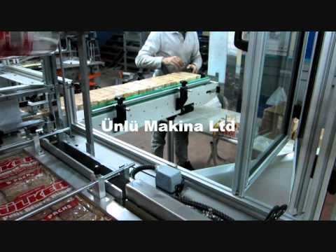 Biscuits Bundling & Overwrapping - Ünlü Makina Ltd - Bisküvi Ambalaj Makinasi