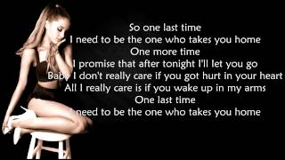 Ariana Grande - One Last Time ( LYRICS ) HD