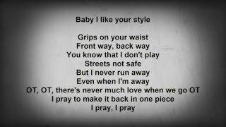 --- Drake - One Dance feat. Kyla & Wizkid (Lyrics)