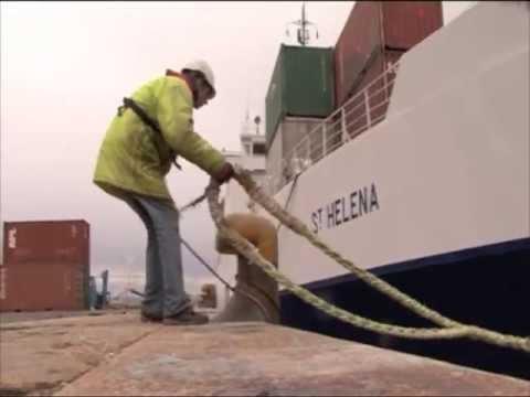 RMS ST HELENA LEAVES PORTLAND