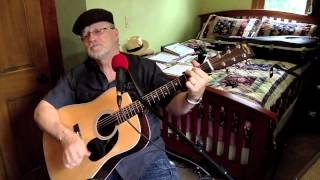 1865 -  Rock Me On The Water -  Jackson Browne vocal & acoustic guitar cover & chords