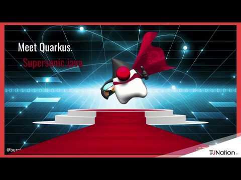 Supersonic, Subatomic Java with Quarkus