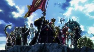 Overlord Opening Creditless 1080p 60fps