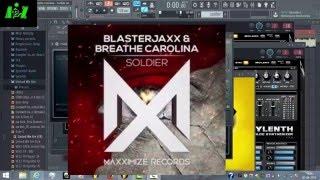 Blasterjaxx & Breathe Carolina - SOLDIER ( Fl Studio Remake + FREE FLP )