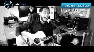 Aunque no sea Conmigo - CELSO PIÑA - Acustico Cover Tutorial Guitarra
