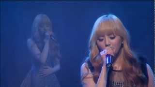 [HD] 130224 Hello Venus Yoonjo - 시간을 거슬러 + Talk (Hello Venus 1st Fan Meeting)