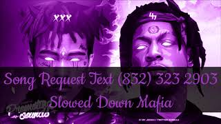 Joey Badass XXXTENTACION   Kings Dead Freestyle Slowed Down Mafia @djdoeman