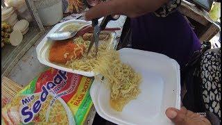 Indonesia Surabaya Street Food 2063 Part.1 Delicious Noodles Mie Sedaap Soto Sosis YDXJ0619 width=