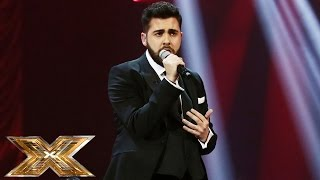 Andrea Faustini sings Nina Simone's Feeling Good | The Final | The X Factor UK 2014