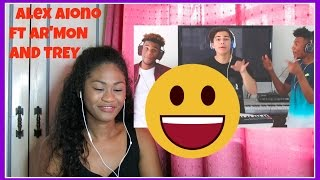 I Spy, T Shirt, Isn't She Lovely, & Swang MASHUP-Alex Aiono Mashup FT AR'MON AND TREY | Reaction