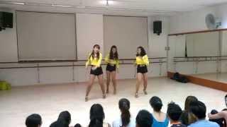 Bailando Singapore-Japan: Ladies Touch