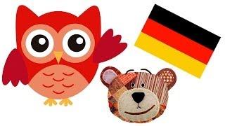 Nomes dos animais do bosque - Alemão para crianças