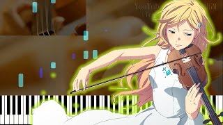 "【Kousei & Kaori Performance Ver.】Your Lie in April ED - ""Kirameki"" (Piano ft. ViolinxViola)"