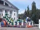 Mariupol-walk along main Lenina street
