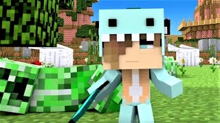 """Minecraft Song and Minecraft Animation """"Psycho Sis Part 2"""" Ft. Freddy from Five Nights and Freddy's"""