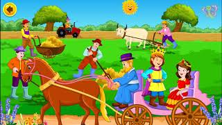 Lavenders Blue Dilly Dilly | Lullaby Lyrics for Baby | English Nursery Rhymes by BooBoo