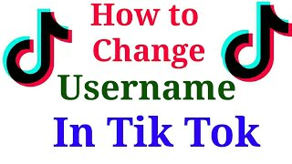 How to change Username in Tik Tok app | Add Youtube channel