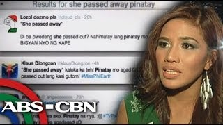 Marc Logan reports: 'She passed away'