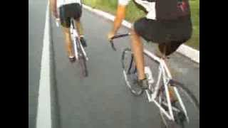 maicon em sua mini bike