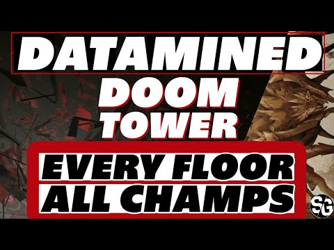 Tower datamined all speeds, RES, ACC, every champion Raid Shadow Legends Doom Tower datamined