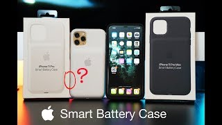 NEW Apple Smart Battery Case for iPhone 11 / iPhone 11 Pro Unboxing (ALL COLORS) + GIVEAWAY!