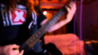 Suicide Commando-Necrophilia(Guitar cover)
