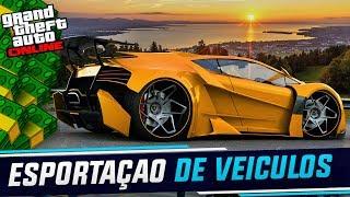 GTA V ONLINE - LIVE DA OSTENTAÇÃO MUITA GRANA E CORRIDAS