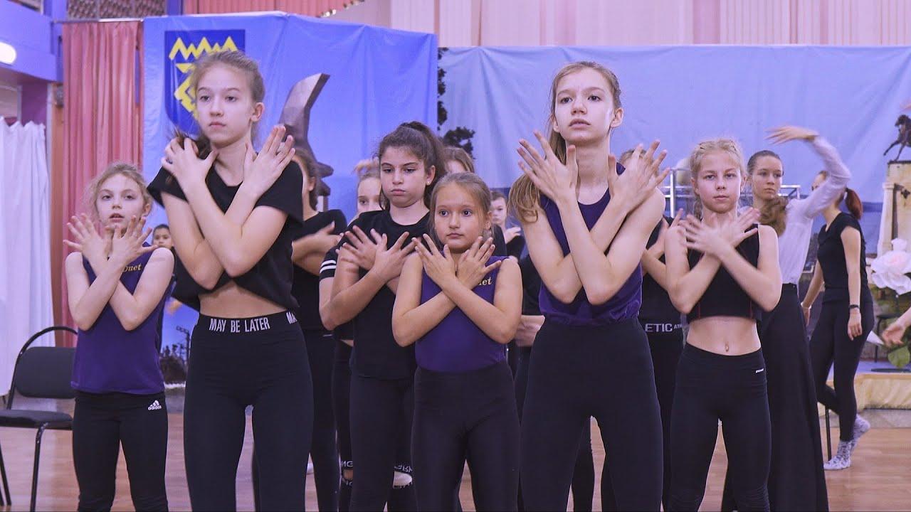 Танцы. На тренировке. Октябрь, 2019