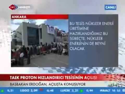 Basbakan Erdogan.TAEK ''2023'e kadar 3 Nükleer Santrali Aktif hale getirecegiz''