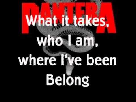 Pantera Walk lyrics Chords - Chordify
