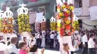 Festa dos Tabuleiros 2007 em Tomar - Cortejo - 7
