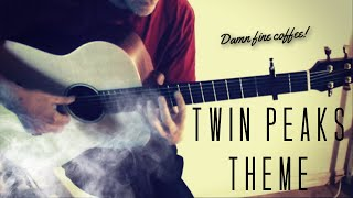 M. Tallstrom - Twin Peaks Theme on baritone guitar