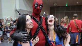 Deadpool does Comic-Con 2012