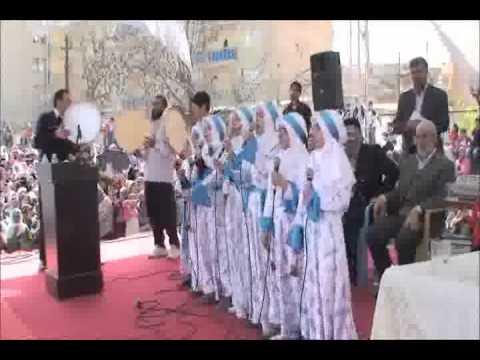 Ergani Kutlu Doğum Video 2011 Kız ilahi grubu - mizgini.flv