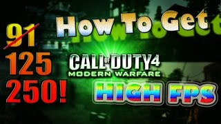 How to fix cod4 fps videos / InfiniTube