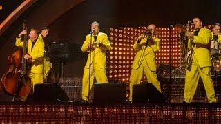 The Jive Aces Bare Necessities - Britain's Got Talent 2012 Live Semi Final - UK version