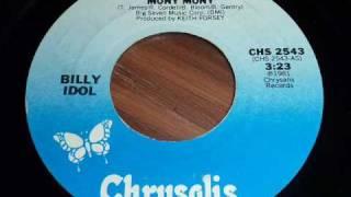 """Billy Idol """"Mony Mony"""" studio version 45rpm"""