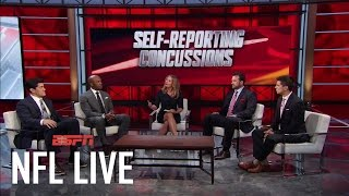 The New Wave Of Self-Reporting Concussions | NFL Live | ESPN