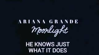 Ariana Grande -Moonlight (Snippet) with Lyrics